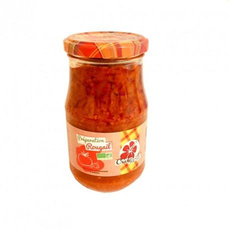 "Sauce Rougail BIO ""Créole Fac'île"""