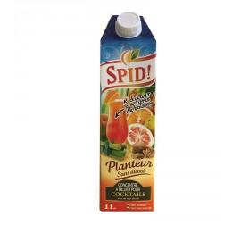 """Concentré à diluer pour punch planteur avec ou sans alcool """"SPID"""" 1l"""