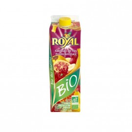 "Cocktail de nos fruits antillais ""Royal"" bio certifié AB DLUO courte 17/01/19"