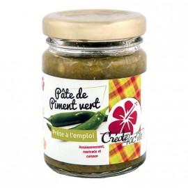 """Pâte de piment vert """"Créole Fac'île"""" DLUO 01/2019"""