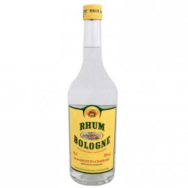 """Rhum """"BOLOGNE"""" blanc agricole de Guadeloupe 50° 70cl"""