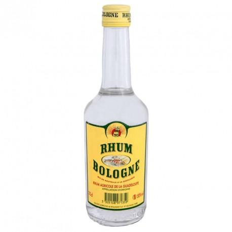 """""""Bologne"""" Rhum blanc agricole de Guadeloupe 50° 35cl creole facile"""