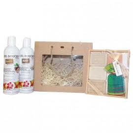 Sac Cadeaux coffret 3 mini savons + 2 gels douche 800x800 creole facile