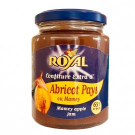 "Confiture Extra ""Royal"" d'Abricot Pays ou Mamey"