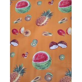 """Toile cirée """"fruits exotiques"""""""