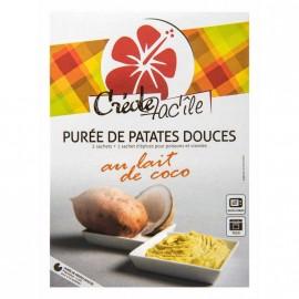 """Purée de patate douce au lait de coco """"Créole Fac'île"""" 130g"""
