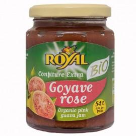 Confiture ROYAL Goyave rose bio certifiée AB DLUO courte 16/02/21