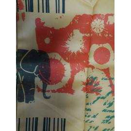 Nappe Polyester antitache 200*148 decor animaux FIN DE SERIE