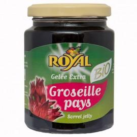 "Gelée ""Royal"" Groseille Pays bio certifiée AB"