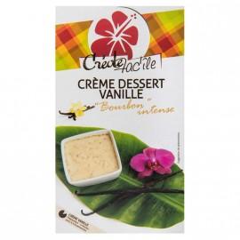 """Crème dessert Vanille Bourbon """"Créole Fac'île"""" DLUO courte 30/09/2020"""