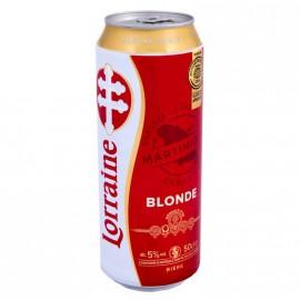 Biere Lorraine 50 cl cannette DLUO courte 21/09/21