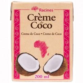 Crème de Coco Brique tetrapack 200ml DLUO courte 18/11/2020