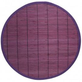 Set de table bambou, uni, par 2, rectangulaire 30*45 cm, coloris au choix
