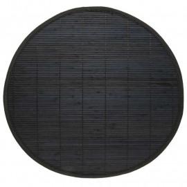 Set de table bambou, uni, par 2, rectangulaire 30*45 cm, vert foncé