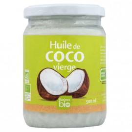 Huile de Coco vierge BIO 500ml DLUO courte 20/01/21