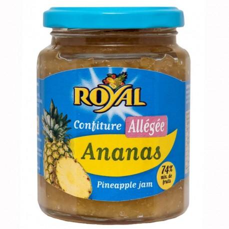 """Confiture allégée """"Royal"""" Ananas"""