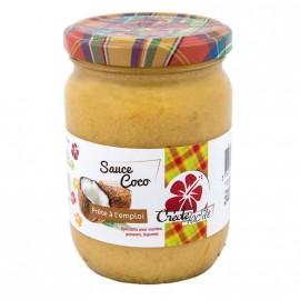 """Sauce Coco """"Créole Fac'île"""" DLUO courte 30/01/21"""