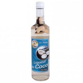 """Liqueur de Coco 18°"""" L'Artisan Rhumier"""" 18° 70cl"""