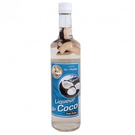 """""""L'Artisan Rhumier"""" Liqueur Coco 18° 70cl"""