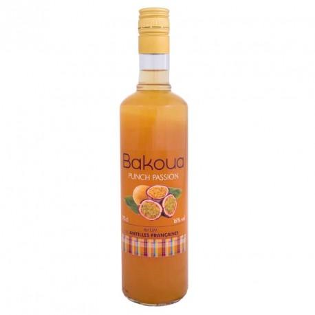 """""""Bakoua"""" Punch passion Rhum des Antilles"""