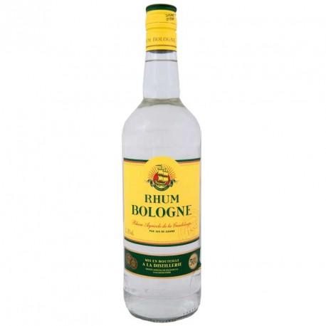"""""""Bologne"""" Rhum blanc agricole de Guadeloupe 55° 1l"""
