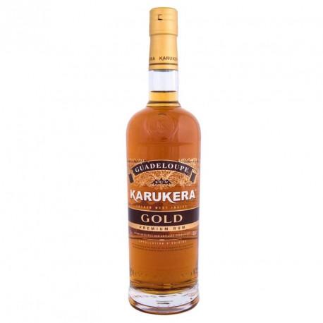 """Karukera"" Gold Rhum de Guadeloupe"