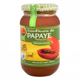 "Confiture Papaye ""Codal"" Madagascar DLUO 03/2020"