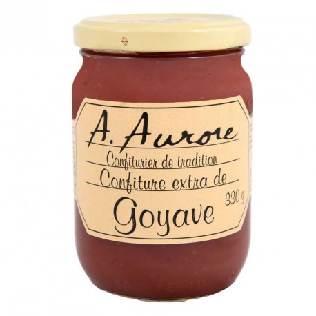 "Confiture goyave ""Aurore"" Martinique 330grs"