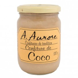 "Confiture coco ""Aurore"" Martinique"