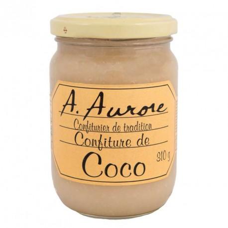 """Confiture coco """"Aurore"""" Martinique 310grs"""