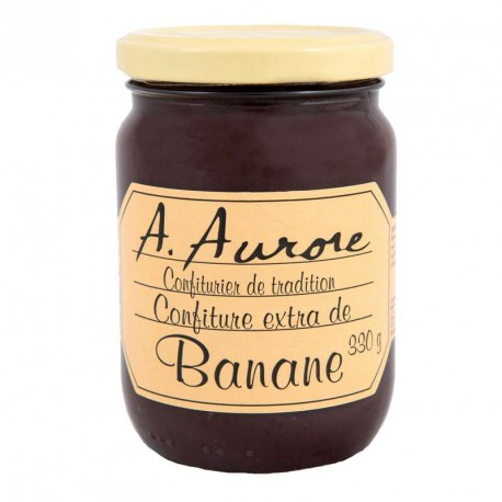 "Confiture banane ""Aurore"" Martinique 330grs"