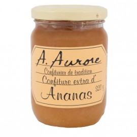 "Confiture Ananas ""Aurore"" Martinique 330grs"