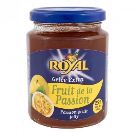 """Gelée de maracudja ou fruit de la passion """"Royal"""" 330grs"""