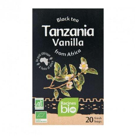Thé Noir d'Afrique BIO Vanille