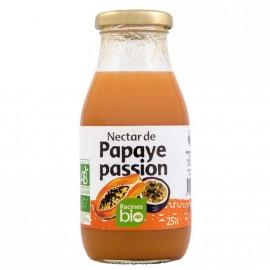 Nectar Papaye Passion Bio de Madagascar certifié AB DLUO Courte 15/12/2018