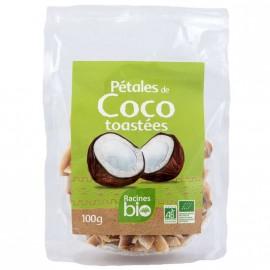 Petales de coco Bio toastes certifié AB