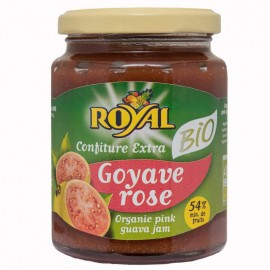 "Confiture ""Royal"" Goyave rose bio certifiée AB"