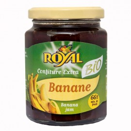 Confiture ROYAL Banane bio certifiée AB