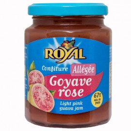 Confiture allégée ROYAL Goyave rose