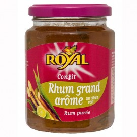 "Confit Rhum Grand Arôme au citron vert ""Royal"""