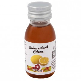 """arôme naturel citron """"créole facîle"""" 60ml"""