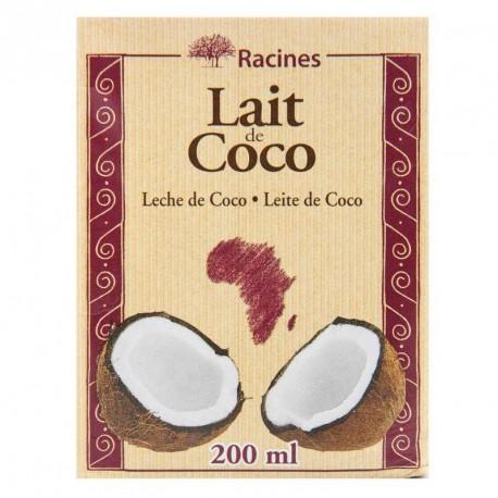 """Lait de COCO """"Racines"""" brique tetrapack"""