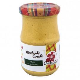 """Moutarde douce au parfum colombo""""Créole Fac'île"""""""