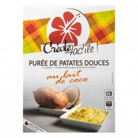 """Purée de patate douce au lait de coco """"Créole Fac'île"""""""