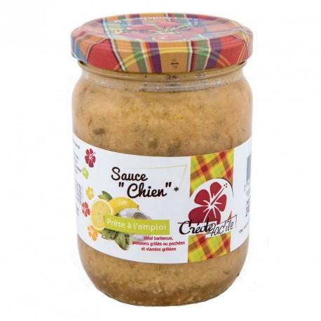 """Sauce Chien """"Créole Fac'île"""" 240g"""