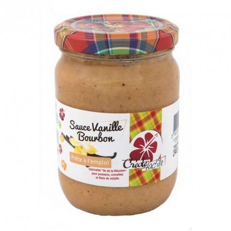 """Sauce Vanille Bourbon """"Créole Facîle"""" 240g"""