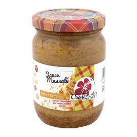 """Sauce Massalé """"Créole Fac'île"""" 240g"""