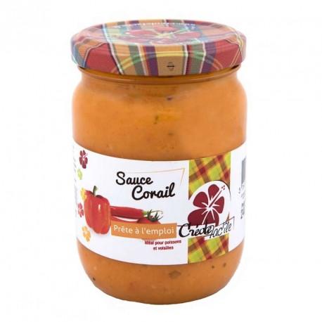"""Sauce Corail """"Créole Fac'île"""" 240g"""