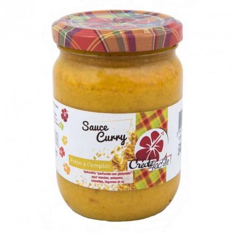 """Sauce Curry """"Créole Fac'île"""" 240g"""