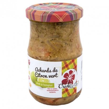 """Achards de citron vert """"Créole Facîle"""" 190grs"""